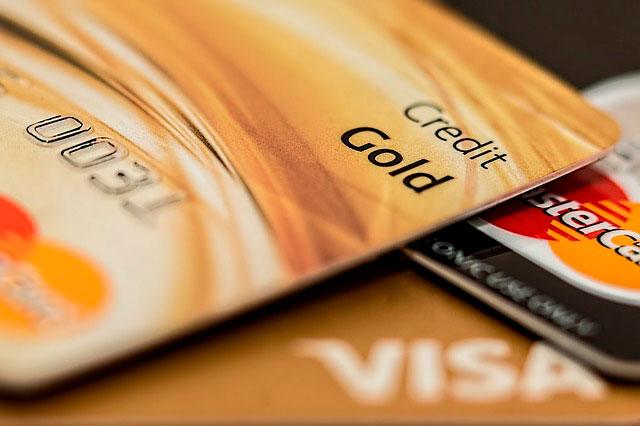 Tarjeta de credito de los monederos electronicos