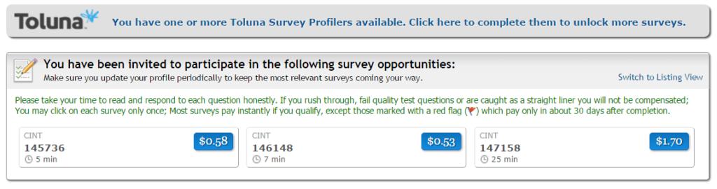 Encuestas remuneradas
