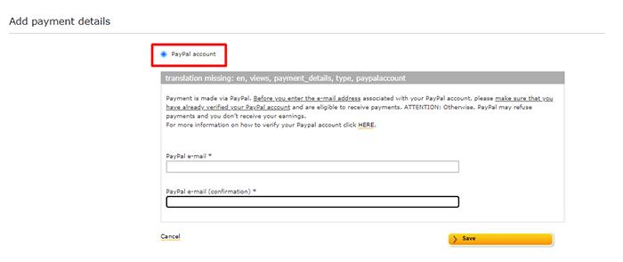 7 Clickworker paga por Paypal